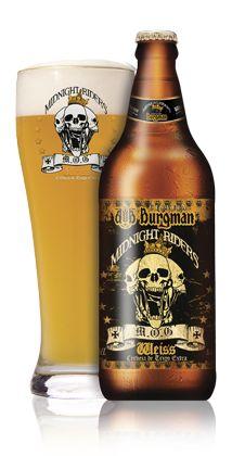 Excelente cerveja! A melhor de trigo que já bebi.  Põe a Baden Baden Weiss no bolso. Burgman Midnight Riders Weiss - Cerveja da Burgman