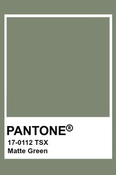 Pantone Color Guide, Pantone Colour Palettes, Pantone Colours, Pantone Swatches, Color Swatches, Carta Pantone, Shades Of Green, Green And Grey, Vert Olive