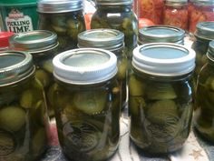I was asked by a bloggyfriend if I would share my pickle recipe. Of course, I will! This recipe makes a wonderful, crunchy sweet pickle. Our family has been eating them for generations. They t...