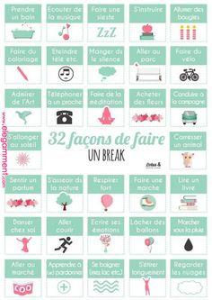 Psychology : 32 façons de faire un break - Positive Attitude, Positive Vibes, Pump It, Vie Motivation, Miracle Morning, Burn Out, Modern Resume Template, Cv Template, Daily Meditation