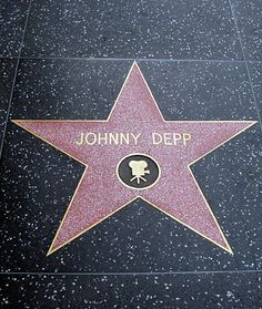 Hollywood Walk Of Fame - Johnny Depp