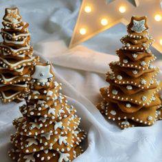 CHOINKA Z PIERNIKA 3D - PRZEPIS NA CIASTECZKA I INSTUKCJA WYKONANIA Cake Cookies, Cookie Decorating, Gingerbread Cookies, Smoothie, Cooking, Drinks, Blog, Diy, Gingerbread Cupcakes