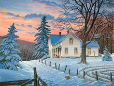 I love the houses he paints