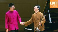 Lang Lang and his father (Lang Guo-ren) at Carnegie Hall.  So fun!