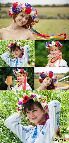 Украинка - девушки в национальных костюмах / Ukrainian woman