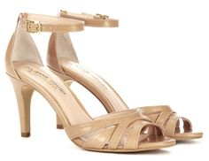 """Julianne Hough for Sole Society """"Gianna"""" Sandals in Beach Tan, $59.95"""