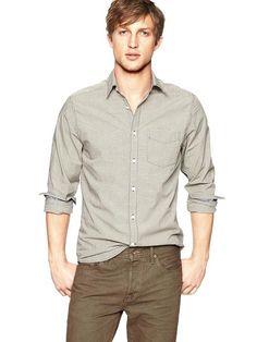 f90a1fad9f23 Neutral Small-Checkered Shirt Sharp Dressed Man