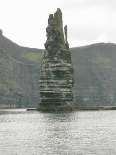 A sea stack off the Cliffs of Moher - Ennis, Ireland Ennis Ireland, Clare Ireland, Ireland Vacation, Ireland Travel, The Places Youll Go, Places To See, Ireland Cliffs Of Moher, County Clare, Irish Culture