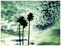 Early morning Barstow, CA- The start of my story took place under this sky