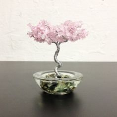 Potted Tree  Rose Quartz от CreationsbyJSheri на Etsy