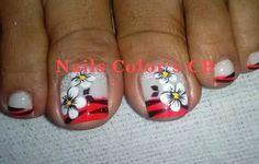 Toe Nail Art, Toe Nails, Toe Nail Designs, Tattoos, Pretty Pedicures, Nail Art Designs, Feet Nails, Nail Bling, Brittle Nails