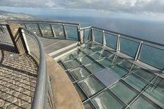 Cabo Girão, Europe's highest Sea Cliff Skywalk opened October 31, 2012 in Madeira, Portugal