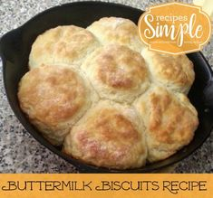My mom used this Buttermilk Biscuits recipe that she found in a Southern Living magazine many years ago. It makes the best Buttermilk Biscuits and it's now become the only recipe our whole family uses! Frozen Biscuits, Southern Buttermilk Biscuits, Buttermilk Recipes, Southern Living Biscuit Recipe, Southern Homemade Biscuits, Flour Recipes, Homemade Breads, Bread Recipes, Baking Recipes
