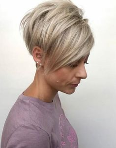 Today we have the most stylish 86 Cute Short Pixie Haircuts. We claim that you have never seen such elegant and eye-catching short hairstyles before. Pixie haircut, of course, offers a lot of options for the hair of the ladies'… Continue Reading → Short Hairstyles For Thick Hair, Haircut For Thick Hair, Short Pixie Haircuts, Short Hair Cuts For Women, Short Hair Styles, Images Of Short Hairstyles, Pixie Hairstyles, Short Womens Hairstyles, Short Fine Hair