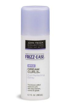 John Frieda's Frizz-Ease Dream Curls spray