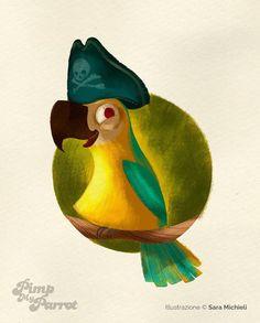 """Sara Michieli  """" Ciao a tutti,  sono un'illustratrice mi piacciono gli animaletti e i bimbi pucciosi.  Ora però voglio studiare e migliorare il design dei miei personaggi, affrontando tematiche diverse da quelle che ho già disegnato. Ho iniziato con i pirati e mi sono divertita tantissimo! """""""