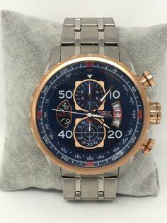 Invicta Aviator Men's Chronograph Watch 17203 New Battery Runs Great Chronograph, Aviation, Running, Watches, Ebay, Accessories, Jewelry, Jewlery, Wristwatches