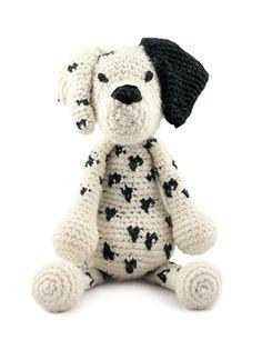 TOFT Amigurumi Crochet Large Dalmatian kit