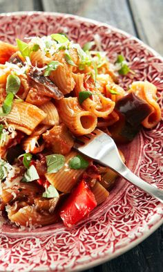 Kung Pao Chicken, Pasta Salad, Pork, Ethnic Recipes, Sweet, Drinks, Red Peppers, Crab Pasta Salad, Kale Stir Fry