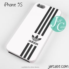 white straight adidas Phone case for iPhone 4/4s/5/5c/5s/6/6 plus