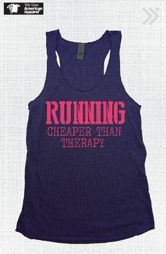 Navy/Neon Coral Running Cheaper then Therapy Eco Tank by everfitte, $26.00