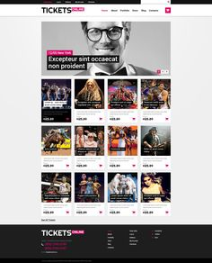 Online Tickets - WooCommerce Theme