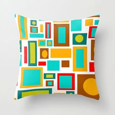Hey, I found this really awesome Etsy listing at https://www.etsy.com/listing/173453184/mod-squares-pillowfun-pillow-mid-century