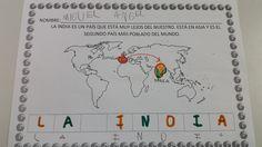 Hoy iniciamos nuevo proyecto en clase con mucha ilusión y entusiasmo, como siempre. Para terminar nuestro primer año de cole, vamos a reali... Taj Mahal, Blog Page, Asia, Bullet Journal, World, Ideas Para, Egypt, Geography, Countries Of The World