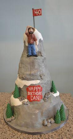 rocky mountain birthday cake
