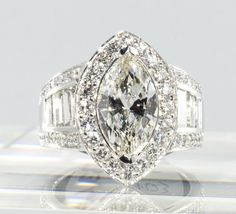 Trend Wedding Rings: Marquise Diamond Wedding Ring Sets With 15ct Tw Diamond In 14k White Gold