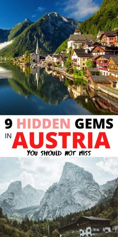 9 Hidden gems in Austria you shouldn't miss. Share this if you like the information. European Travel Tips, European Destination, European Vacation, Best Places To Travel, Cool Places To Visit, Travel Advice, Travel Guides, Road Trip Europe, Travel Europe
