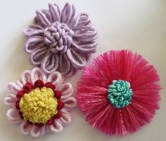 Flower Looms: Loop Stitch Centres