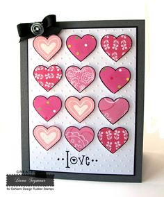 Small Heart Outline...By:  Dana Seymour ..DeNami Design Blog
