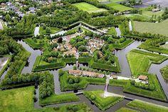 Fort Bourtange in Bourtange Netherlands