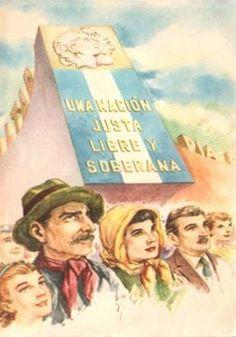 """Mundo Peronista"" en afiches y más (1946 - 1955) - Imág... en Taringa! Latina, Political Posters, Scenic Design, Teaching Spanish, American History, Shit Happens, Movie Posters, Dani, Google Translate"