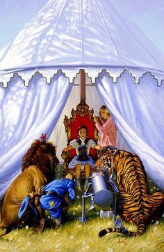Oz - Wonderland by Joe Jusko