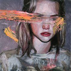 Hélène Delmaire Paintings - EverythingWithATwist