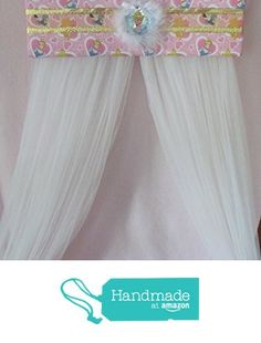 Bed Canopies, Canopy, Bed Crown, White Sheer Curtains, Bow Jewelry, Princess Disney, Childrens Room Decor, Cribs, Shabby Chic