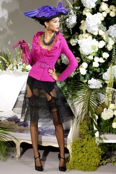 Christian Dior Fall 2009 Couture Fashion Show - Chanel Iman