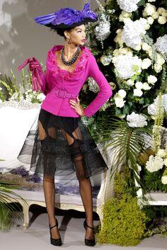 Christian Dior Fall 2009 Couture Fashion Show - Chanel Iman