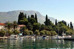 CroatianStoneHouse.com - The beautiful Kastel Luksic Harbour in Kastela in between Split and Trogir.  http://croatianstonehouse.com