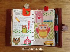 Filo Cuteness: one of the best blogs that show you how to personalize your filofax/organizer like a crafty person