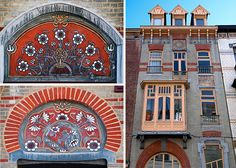 There's plenty of Art Nouveau architecture to see in Brussels