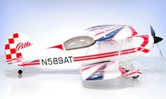 4 CH BlitzRCWorks Pitts Special RC 3D Airplane - Radio Controlled Pitts Special Bi-Plane - RC Airplane