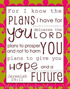 Items similar to For I know the Plans- A digital art subway print on Etsy Prayer Scriptures, Faith Prayer, Prayer Quotes, Scripture Verses, Bible Verses Quotes, Faith In God, Spiritual Quotes, Faith Quotes, Positive Quotes