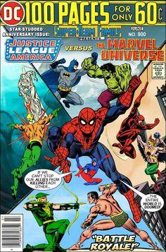 JLA vs. The Marvel Universe