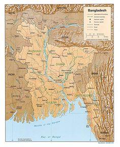 bangladesh map geography - : Yahoo Image Search Results