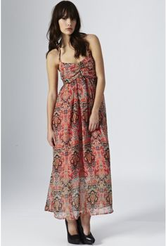 Halter Print Long Dress - Festival Soul - Trends