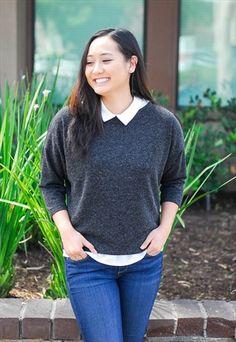 Grey Ballad Sweater  #asosmarketplace #loverelished