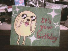 """Jake the Dog"" Happy Birthday card"